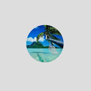 Beach Mini Button