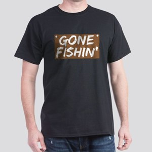Gone Fishin' (Fishing) T-Shirt