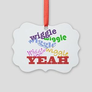 Wiggle Picture Ornament