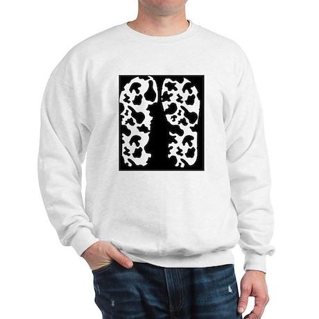 Cow Print Sweatshirt