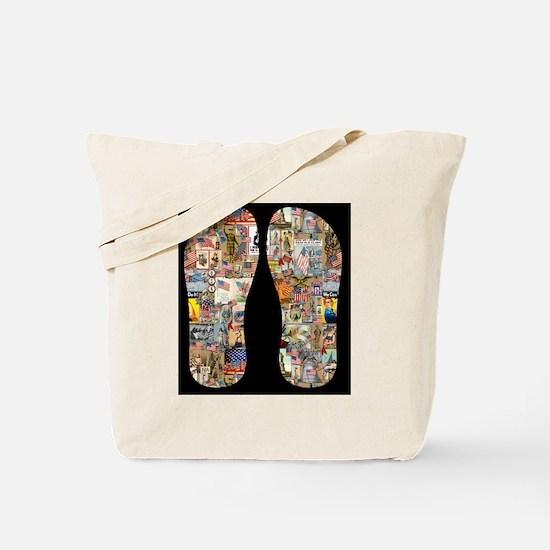 Vintage Patriotic Tote Bag