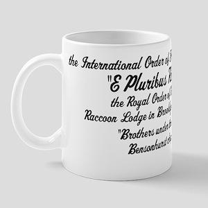 International Order of Friendly Sons Of Mug