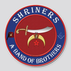 SRHINERS - A Band of Brothers Round Car Magnet