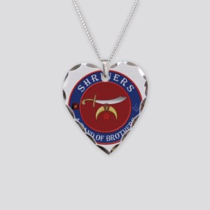 SRHINERS - A Band of Brothers Necklace Heart Charm