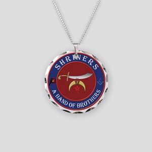 SRHINERS - A Band of Brother Necklace Circle Charm