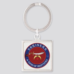 SRHINERS - A Band of Brothers Square Keychain
