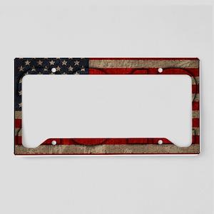 2012 American Flag License Plate Holder