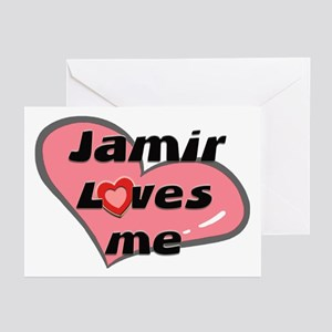jamir loves me  Greeting Cards (Pk of 10)