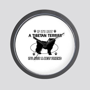 TIBETAN TERRIER designs Wall Clock