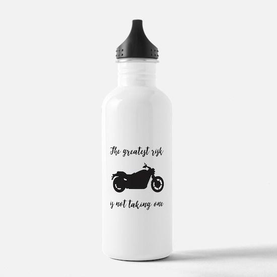 Greatest Risk Script Water Bottle