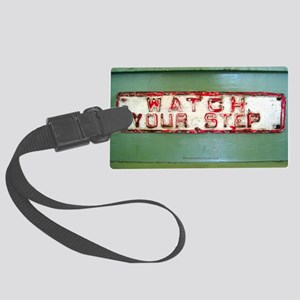 Watch Your Step Shoulder Bag Large Luggage Tag