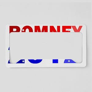 MITT ROMNEY 2012 COLOR License Plate Holder