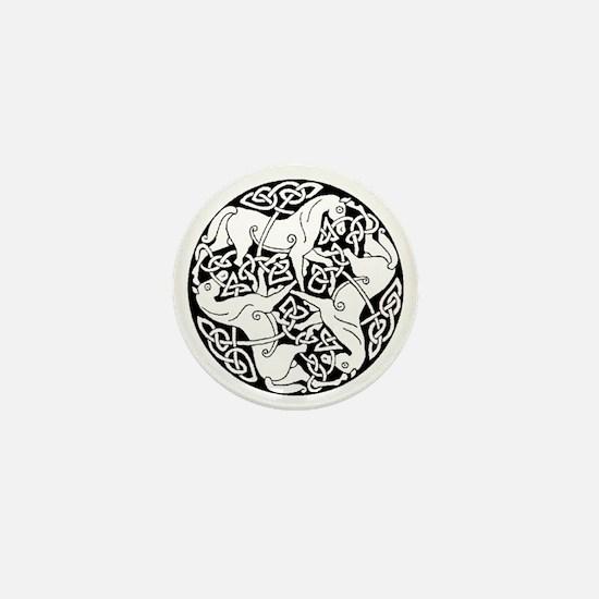Heather Hill Mini Button