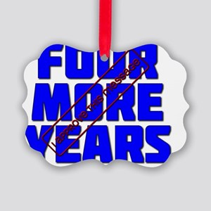 Four More Years Picture Ornament