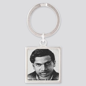 ramanujan 3500 theorems and counti Square Keychain