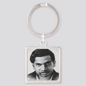 man who knew infinity Square Keychain