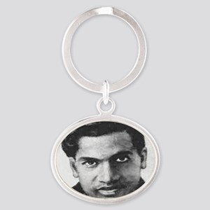 man who knew infinity Oval Keychain