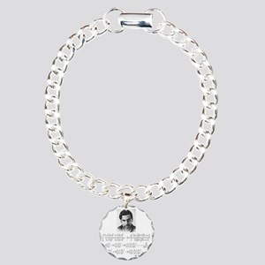 ramanujan and his equati Charm Bracelet, One Charm