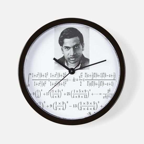 ramanujan and his equations Wall Clock