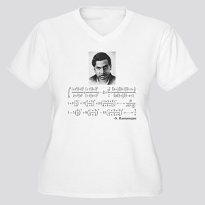ramanujan and his Women's Plus Size V-Neck T-Shirt