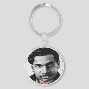 if he had lived a few more years Round Keychain