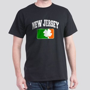 New Jersey Shamrock Dark T-Shirt