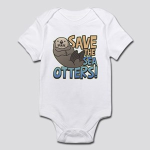 Save Sea Otters Infant Bodysuit
