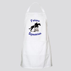 Cute Future Equestrian Horse Apron