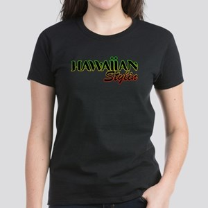 Hawaiian Stylin' Rasta Women's T-Shirt
