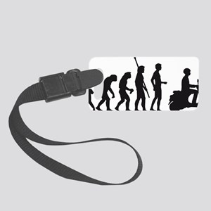evolution scooter Small Luggage Tag