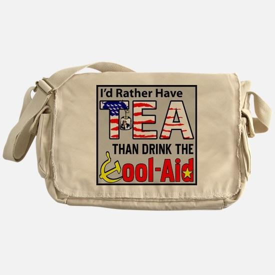 TeaPoster Messenger Bag