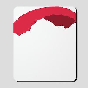 fallschirm 3c black Mousepad