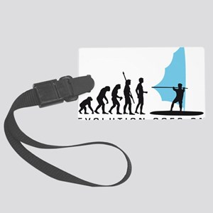 evolution windsurfer Large Luggage Tag