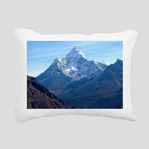Mount Everest Rectangular Canvas Pillow
