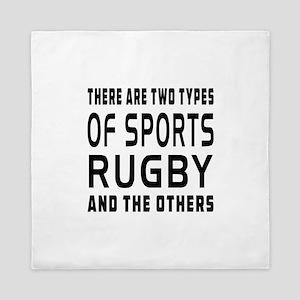 Rugby Designs Queen Duvet