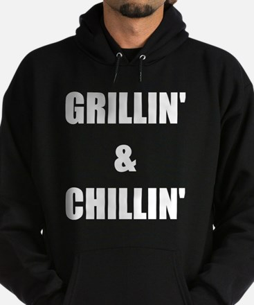 GRILLIN AND CHILLIN Hoodie (dark)