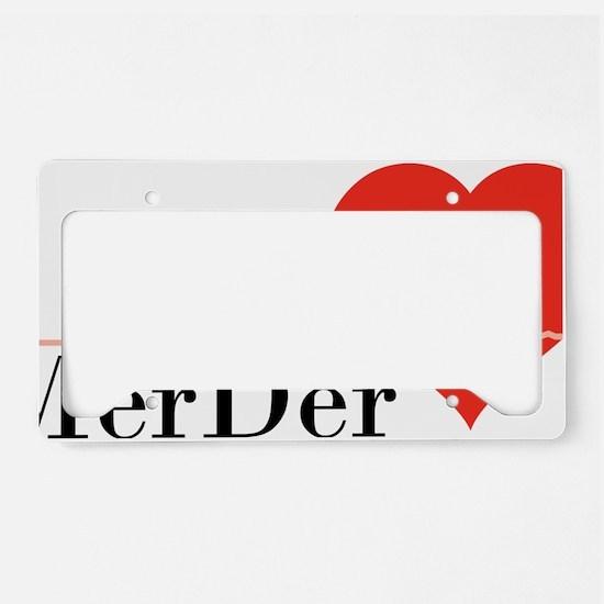 ga64 License Plate Holder