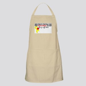 Impatiently Waiting BBQ Apron