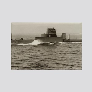 uss grouper agss large framed pri Rectangle Magnet