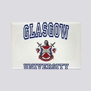 GLASGOW University Rectangle Magnet