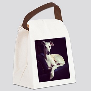 whippet Canvas Lunch Bag