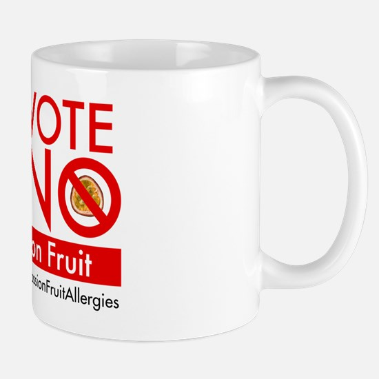 Vote No on Passion Fruit Mug