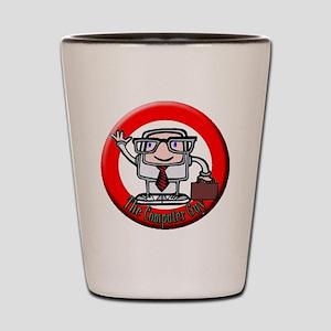 logolabel1 Shot Glass