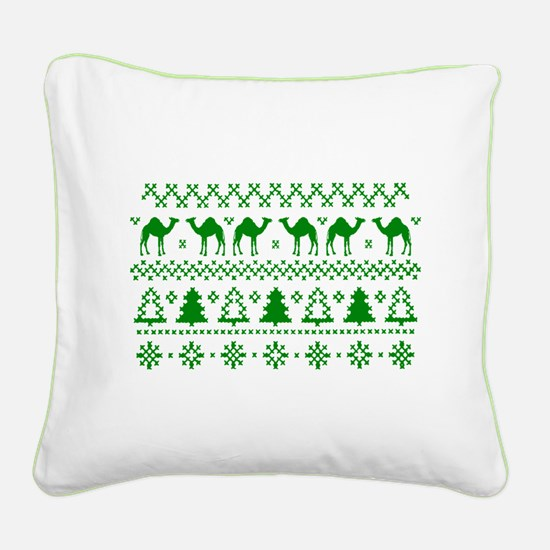Christmas Hump Day Camel Ugly Sweater Square Canva