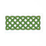 Celtic Knot Aluminum License Plate