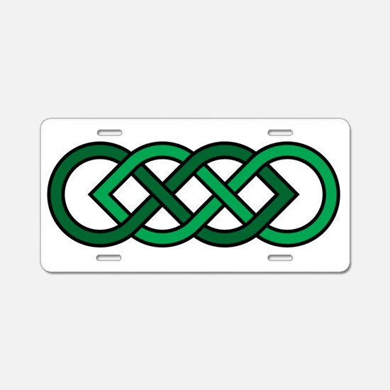 Celtic Knot Aluminum License Plate