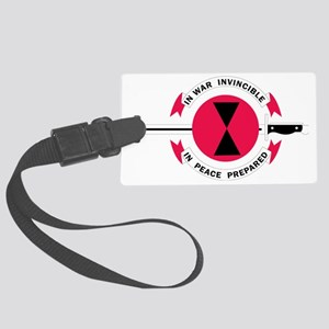 Camp Casey Large Luggage Tag