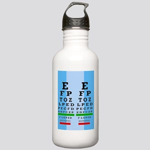 Eye Chart FF 1 Stainless Water Bottle 1.0L