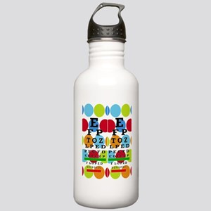 Eye Chart FF 8 Stainless Water Bottle 1.0L