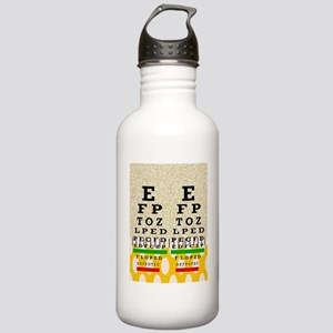 Eye Chart FF 6 Stainless Water Bottle 1.0L